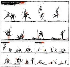 Action Pose Reference, Animation Reference, Action Poses, Art Reference, Art Of Fighting, Fighting Poses, Art Poses, Drawing Poses, Body Drawing