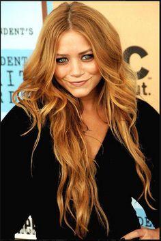 Copper Blonde. Future hair color??