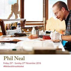 Phil Neal will be in his workshop during to meet and greet and discuss his wide range of skills. Christmas Art, Christmas Shopping, Phil Neal, Art Market, Studios, Workshop, Meet, Range, Marketing