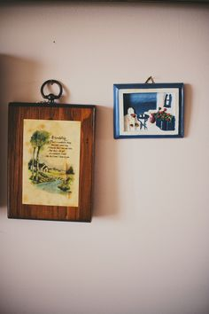Hanging frames on wall Hanging Frames, Frames On Wall, Floating Shelves, Pictures, Home Decor, Photos, Homemade Home Decor, Wall Mounted Shelves, Wall Shelves