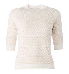 Erikoinen neulos antaa ilmettä vaalealle neuleelle.  34,95€ Turtle Neck, Sweaters, Style, Fashion, Swag, Moda, Fashion Styles, Sweater, Fashion Illustrations