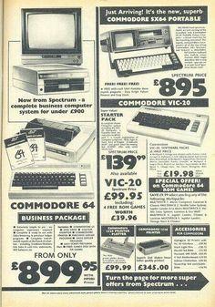 Commodore Ad.