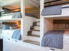 Boys' bed storage drawers