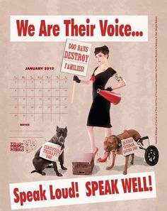 Pinups for Pitbulls 2013 calendar not only looks good, it helps spread breed awareness.
