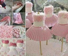 marshmallow ballerina