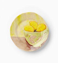 VIETRI - Sara's Fruit Lemon Salad Plate