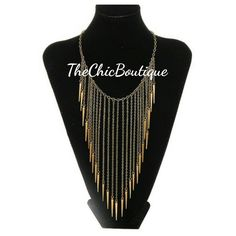 Lightweight and trendy this gold necklace will make you stand out!  #freeshipping | Shop this product here: http://spreesy.com/TheChicBoutique/3 | Shop all of our products at http://spreesy.com/TheChicBoutique    | Pinterest selling powered by Spreesy.com