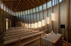 Simplicity Married Craftsmanship at Peter Zumthor's Saint Benedict Chapel | Archute