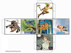 Ένα απλό και αστείο παιχνίδι που μπορεί τ ε  να παίξετε με τα παιδιά σε ομάδες ή ζευγάρια είναι να μπερδέψουν οι θεοί τα σύμβολα-αντικείμε...