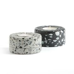 La Redoute online store, FREE Click & Collect for orders over and free returns†. Cement Art, Cement Crafts, Concrete Art, Concrete Candle Holders, Diy Candle Holders, Recycled Plastic Furniture, Candle Power, Concrete Light, Marble Candle