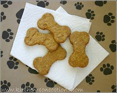Pumpkin Oatmeal homemade Dog Treats