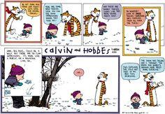 Calvin and Hobbes Comic Strip, January 12, 2014 on GoComics.com
