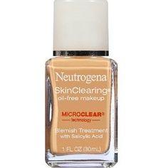 neutrogena liquid foundation | Best Liquid Makeups For Acne Prone Skin - #GotItFree