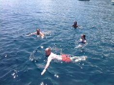01.07 - Finalmente in acqua...