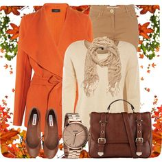 """Colors of Autumn"" by denise-schmeltzer on Polyvore"