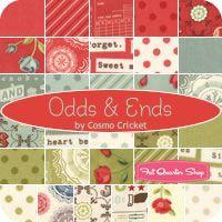 Odds & Ends Fat Quarter Bundle Cosmo Cricket for Moda Fabrics - Fat Quarter Shop