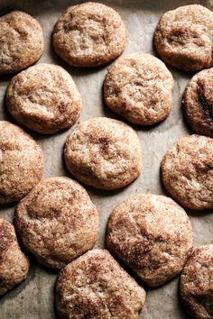 Snickerdoodle Cookies (Vegan) — Plant and Sprout Cookie Desserts, Vegan Desserts, Cookie Recipes, Dessert Recipes, Paleo Dessert, Cinnamon Cookies, Cinnamon Spice, Quick Easy Desserts, Desert Recipes