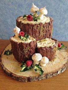 vaniglia e cioccolato: Tronchetto di Natale  e tanti auguri