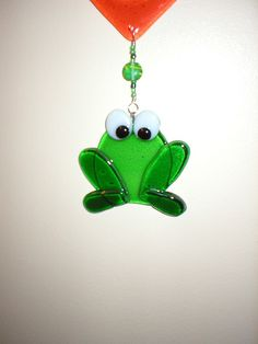 Glass Frog Sun Catcher
