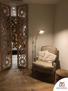 Ethnic Decor, Moroccan Decor, Dream Home Design, House Design, Design Marocain, Living Room Wall Units, Room Partition Designs, Moroccan Interiors, Home Decor Furniture