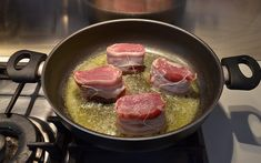 Ricetta Medaglioni di maiale al formaggio | Agrodolce Pork, Beef, Kale Stir Fry, Meat, Pork Chops, Steak