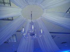 Wedding Ceiling Decor Perhaps A Hula Hoop Around The