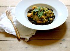 Meatless Mondays with Martha Stewart – Rhubarb-Lentil-Sweet Potato Stew