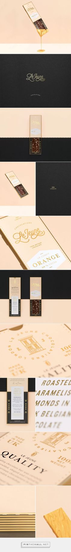 Le Jeune Quality Chocolate Packaging by Studio Chapeaux | Fivestar Branding Agency – Design and Branding Agency & Curated Inspiration Gallery