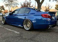 BMW F10 M5 blue deep dish slammed Bmw M5 F10, E46 M3, Bmw Wallpapers, Bmw Series, Big Rig Trucks, Sports Sedan, Wheels And Tires, Jdm Cars, Custom Cars