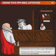 An Excerpt from the Choose Your Own Adventure Bible...