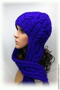 """Шапка """"Скандинавская сказка"""" - шапка,шапка вязаная,шапка женская,шапка-шлем"""