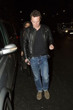 Michael Fassbender Photos Photos - Michael Fassbender leaves the Bulgari Hotel with his new girlfriend on May 24, 2013. The actor enjoyed a night out with actor buddy Bradley Cooper.  - Michael Fassbender Leaves the Bulgari Hotel