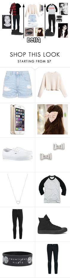"""RP w/  @punk-koala-loves-5sos"" by jasloves5sos ❤ liked on Polyvore featuring Topshop, xO Design, Cuteberry, Vans, Marc by Marc Jacobs, Tiffany & Co., Topman, Mikey, Converse and Wilfred Free"