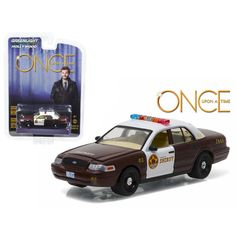 Sheriff Graham\s 2005 Ford Crown Victoria Police Interceptor \Storybrooke\ Once Upon a Time (2011-Current) TV Series 1/64 Diecast Model Car by Greenlight