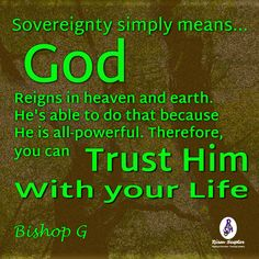 Because God rules we are able to trust Him. More at #RisenScepter owl.li/4mZ4NS