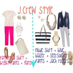 J.Crew Style: business casual outfits