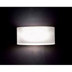 Leucos Vittoria P22-Light Flush Mount Bulb Type: Fluorescent- 2x18W Quad Electronic, Shade Color: Satin Amber