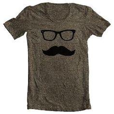 a mustache shirt!