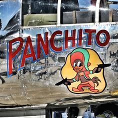 "B-25 ""Panchito"" nose art"