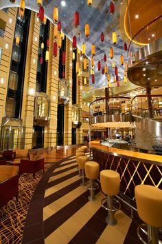 Atrium at the Carnival Breeze