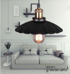 复古灯具铁艺灯饰美式灯具简约仿古客厅工业灯具