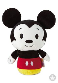 Our pal Mickey is even more irresistible when he's biggy. Mickey has joined itty bittys® BIGGYS, so he's twice as huggable. Perfect for your kids Easter basket!