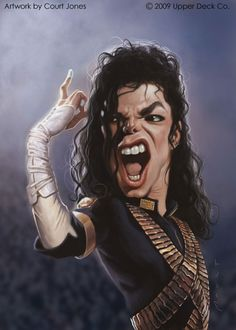 Caricature Collection: Michael Jackson
