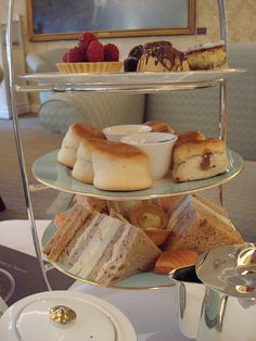 Afternoon Tea at Fortum and Mason, London