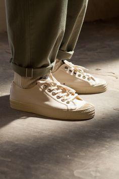eed55531d4f5 OTF shot of Universal Works X Novesta SS16 Star Master Ecru Sneaker Dope  Fashion