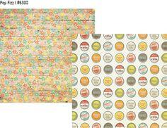 Summer Vibes 12x12 Paper Pop Fizz