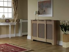 Winther Browne RADCAD03 Classic Adjustable MDF Large Radiator Cover Cabinet