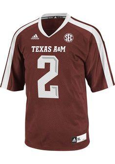 Texas A&M Aggies Mens Adidas Football Jersey - Texas A&M Maroon 2013 Jersey http://www.rallyhouse.com/shop/texas-am-aggies-adidas-14857256?utm_source=pinterest&utm_medium=social&utm_campaign=Pinterest-TexasAMAggies $65.00