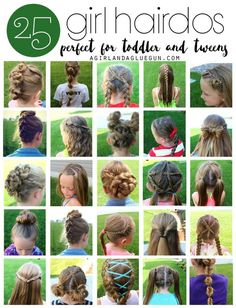 25 little girl hairstylesyou can do yourself girl hairstyles 25 girl hair styles for toddlers and tweens solutioingenieria Images