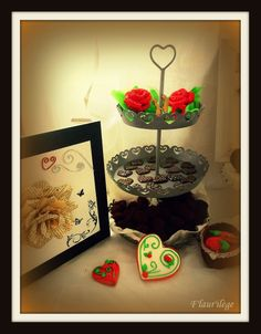 Valentine's sweet table 2014 http://flaurilege.canalblog.com/archives/2014/02/17/29235492.html